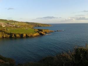 Plymouth - calm seas and blue skies