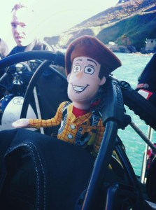 Plymouth - Woody's first dive